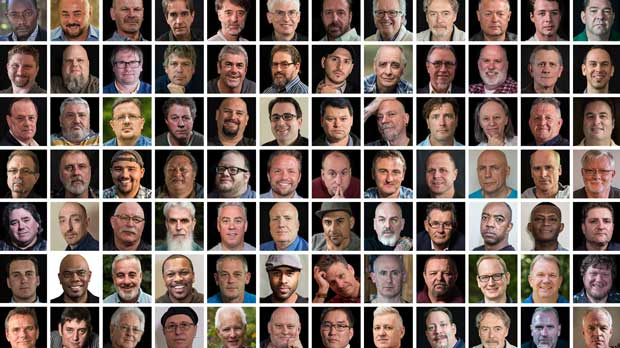 """""""1in6 Mosaic 92 Men"""" Photo courtesy of 1in6"""