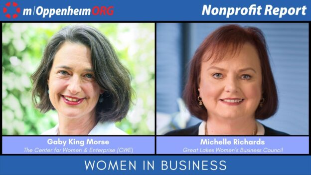 In celebration of American Business Women's Day, Mark Oppenheim leads a discussion on women-owned businesses, with guests; Gaby King Morse, President & CEO of The Center for Women & Enterprise & Michelle Richards, Executive Director of Great Lakes Women's Business Council