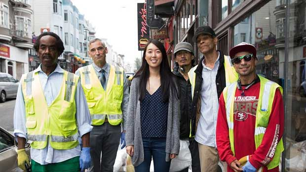 """""""Street Beautification participants"""" Photo courtesy of North Beach Citizens"""
