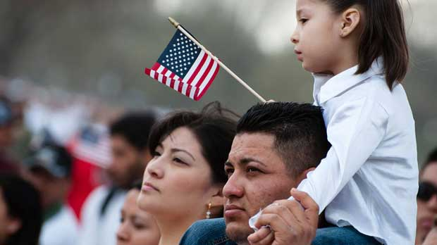 """""""Immigrant Family"""" Photo courtesy of Catholic Charities of the Diocese of Santa Rosa"""
